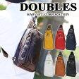 ダブルス DOUBLES!ボディバッグ 【YIX】 YIX1401 メンズ レディース ワンショルダー 斜めがけバッグ ボディーバッグ プレゼント 革 レザー [通販]【ポイント10倍】【送料無料】【あす楽】