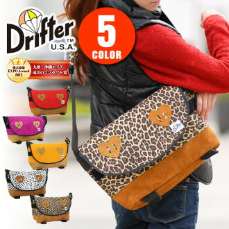 * Prices from 3 / 1! Hurry up * drifter Drifter! タウンメッセンジャース Mall df0718 Womens ' Messenger bag shoulder bag diagonally over bag