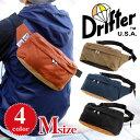 ドリフター Drifter!老若男女問わず人気のウエストバッグ!コンパクトなB6サイズで貴重品入れとして気軽に使えます♪