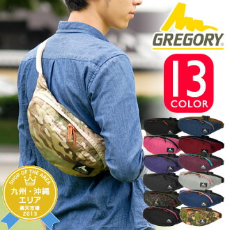 Gregory GREGORY! Waist bags body bag mens Womens West porch West also bag