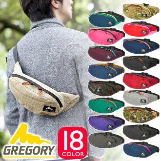 Gregory GREGORY! Waist bags body bag mens Womens West porch West also bag