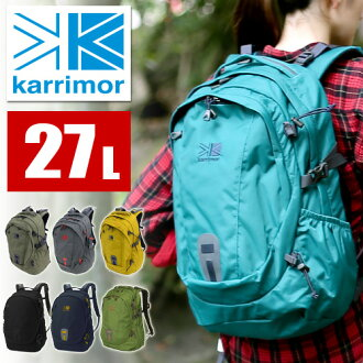 KARRIMOR! [Alpine × Trekking] [eclipse27] 359531 Men Women Mountaineering Bag Fashion Commuting School High School Students [10 times points] [Rakuten Gift Wrapping] P27Mar15 [Free Delivery]