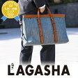 ラガシャ lagasha ビジネスバッグ トートバッグ 【ラボラトリー】 7395 メンズ ギフト A4対応 ヘリンボーンデニム 通勤 【送料無料】【あす楽】