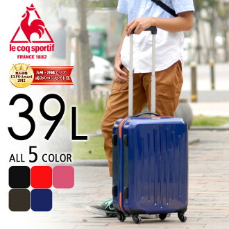 Suitcase carry hard travel bag! ルコックスポルティフ le coq sportif 036935 at most men's women's shop sale!
