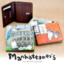 マンハッタナーズ manhattaner's!二つ折り財布 ...