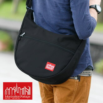 It is fs2gm at マンハッタンポーテージ Manhattan Portage shoulder bag men bias [RCP] [free shipping] [easy ギフ _ packing] [point 10 times] [tomorrow easy correspondence] bag [TOP ZIPPER NOLITA BAG] MP6056 (6056)