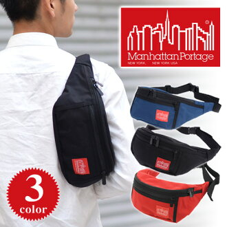 Manhattan PortageマンハッタンポーテージAlleycatWaistBagS MP1101(男子男女兩用男女兼用腰包車身手提包腰袋)fs3gm