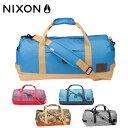 ニクソン NIXON!ポケット豊富で小物整理も楽々☆短期旅行や合宿バッグにも◎な2wayダッフルバッグ