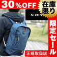【30%OFFセール】ニクソン NIXON!リュックサック バックパック ベース [BASE] nc2185 メンズ ギフト レディース 通勤 通学 黒 バッグ リュック A4 高校生 誕生日プレゼント 人気ブランド 正規取扱店【あす楽】 【送料無料】 クリスマス Xmas プレゼント ギフト カバン