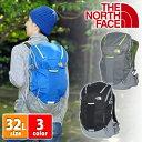 ザ・ノースフェイス THE NORTH FACE!ポケット豊富!軽量で通気性に優れた背面構造を持つ、マルチユースの登山リュック(SM)