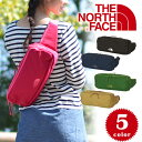 ザ・ノースフェイス THE NORTH FACE!小物の管理も出来るポケット付き!形状維持するコンパクトウエストバッグ★