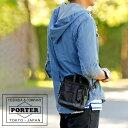 ポーター PORTER バッグ カバン 吉田カバン ポ-タ-【代引&送料無料】ポケットの充実した機能的ショルダーバッグ