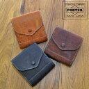 吉田カバン ポーター PORTER ! イタリア古来の製法で仕上げたレザーは使うほどに表情を変える。大人にピッタリの折り財布です。