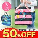 ツモリチサト tsumori chisato!ブーケの刺繍を施した夏らしいトートバッグ!シーンに応じてショルダー持ちも可能★