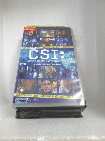 r1_71281 【中古】【VHSビデオ】CSI:SEASON2 科学捜査班 1【字幕版】 [VHS] [VHS] [2005]