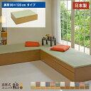 高床式 ユニット 畳【美草80×120】高さ33cm 畳収納 収納畳 畳ベッド 畳BOX 畳ボックス タタミベッド スツール たたみベッド