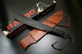 マスターカトラリー【Master Cutlery】 マスターカトラリー ランボーナイフ RAMBO IV Leather Wrapped Handle MC-RB4