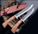 【関兼常】 兼常作傳古式 猪狩刀・両刃 210mm TS-38