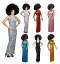 ポイント16倍 大きめサイズあります ダンス衣装 スパンコール ロングドレス SMサイズ 9号から11号・MLサイズ 11号から13号 7カ..