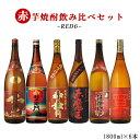 10月限定 ポイント10倍中 焼酎 飲み比べ RED6 赤飲...