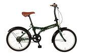 RENAULT/ルノー/20インチ折畳自転車/FDB20/MG-RN20/ディープグリーン 自転車 サイクル 折りたたみ 折り畳み 屋外 アウトドア スポーツ 自転車本体 緑