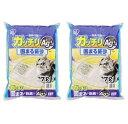 アイリスオーヤマ 【2袋セット】ガッチリ固まる猫砂Ag+ GN-7 7L / ペット ペットグッズ 猫用品 猫砂