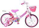 MY PALLAS(マイパラス) プリンセス子供用自転車16 MD-08 子供用自転車 プリンセス ピンク 桃 16 ディズニー 補助輪付 女の子 シンデレラ アウトドア サイクリング