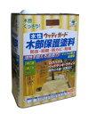ニッペ 水性ウッディガード 3.2L チャコールブラック