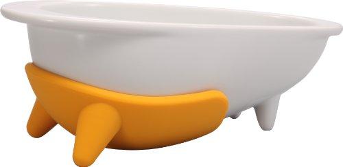 HARIO(ハリオ)ワンプレワンコプレート磁器製マンゴーイエローPTSC-LMYワンプレペット用品ペ