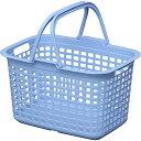 アイリスオーヤマ バスケット ランドリー アクアブルー LB-M / インテリア 収納 収納家具 ランドリー収納 ランドリーバスケット 四角型