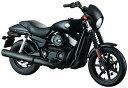 HARLEY-DAVIDSON 2015 ストリート 750 104439 1/12 完成品バイク 4905083104439 青島文化教材社