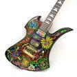 FERNANDES MG-145X フェルナンデス 日本製 エレキ ギター 楽器 サイケペイント モンキーポッド HIDEモデル 東大阪店 【USED】
