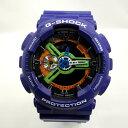 G-SHOCK ジーショック CASIO カシオ 腕時計 GA-110EV-6AJR エヴァンゲリヲン コラボ ダブルネーム EVANGELION NERV ネルフ 初号機 新劇場版 パープル ビッグ