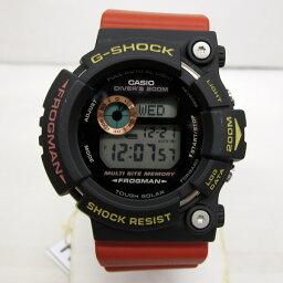 G-SHOCK ジーショック CASIO カシオ 腕時計 GW-200TC-4 フロッグマン FROGMAN ASP トリプルクラウン オフィシャル モデル メンズ ブラック レッド サーフィン タフソーラー 東大阪店 129906【USED】
