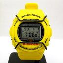 ジーショック カシオ G-SHOCK CASIO 腕時計 DW-5700 スティング デジタル イエロー ショックレジスト スクリューバック ラバー メンズ T東大阪店 185582 【USED】