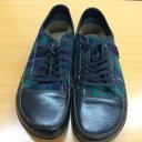BIRKEN STOCK Footprints ビルケンシュトック スニーカー 靴 シューズ タータンチェック メンズ 27cm 三国ヶ丘店 529341【中古】RM17KA