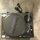 Technics テクニクス SL-1200MK ブラック ターンテーブル レコードプレーヤー DJ アナログ オーディオ機器 メンテナンス済み 51N【Cランク】RM208E