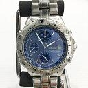 SEIKO セイコーCHRONOGRAPH クロノグラフ シルバー ブルー 腕時計 ウォッチ 服飾雑貨 メンズ 時計 7T32-6E40 三国ヶ丘店 OC 471314【USED】RM1852