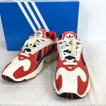 adidas アディダス YUNG-1 B37615 ホワイト white レッド red メンズ 26.5cm ベトナム製 貝塚店 474121  RK211J