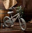 【軽量アルミフレーム】◆arcoba◆アルコバ 16インチ幼児車 TEKTROブレーキ・ホワイトパーツ ハイクオリティー子ども用自転車 補助輪付 子供