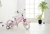 【軽量アルミフレーム】◆arcoba◆アルコバ 14インチ幼児車 TEKTROブレーキ・ホワイトパーツ ハイクオリティー子ども用自転車 補助輪付 子供