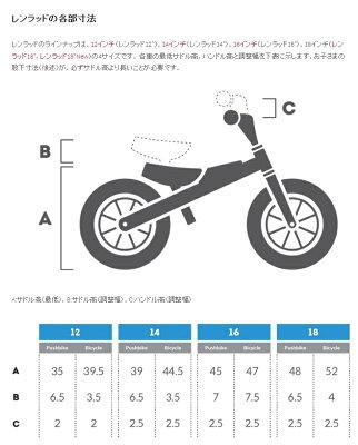 【ポイント10倍】RENNRADレンラッド14インチ子供用自転車キッズステップアップ・バイクランバイク・モード】BRA