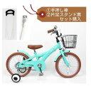 NEW子供用自転車 16インチ フルセット(押して棒+片足ス...