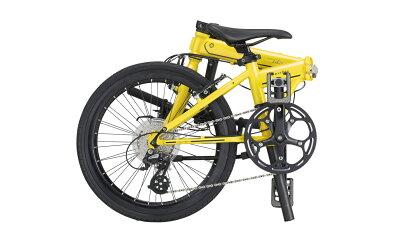 プレゼント3点【選べる脱着式QRDペダル+鍵+LEDライト】DAHONダホン◆2016モデルMuP99SpeedDFSTechnologyフォールディングアルミShimanoAltus9段変速折畳み(おりたたみ)自転車