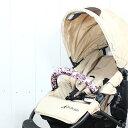 ◆同時購入で送料無料◆フロントバー用カバーフラワーピンク◆ エアバギーココ airbuggy COCO 専用◆ポップにカスタマイズ