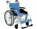 【送料無料】自走式 アルミ製スタンダード車椅子 ECO-201B/ 前座高43cm 座幅40cm E-2[