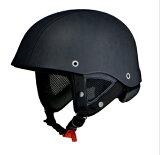 LEAD リード工業 EAGLE WING EW-88 LZ DAMAGE BLACK ハーフヘルメット EW88-LZ-DMG-BK