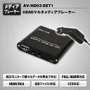 KATSUNOKI 車載用HDMIマルチメディアプレーヤー AV-HD03-SET1