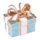 ●【送料無料】ジュエリーボックス プレゼントボックス EX310-5ブルーボックス「他の商品と同梱不可/北海道、沖縄、離島別途送料」