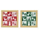 ●【送料無料】オリムパス クリスマス クロスステッチししゅうキット クリスマス「他の商品と同梱不可」